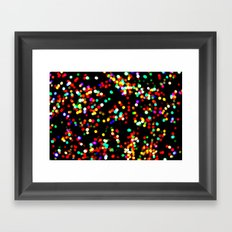 celebrate color Framed Art Print