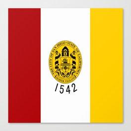 flag of San Diego Canvas Print