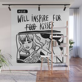 Will Inspire For Kisses Wall Mural