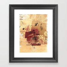 misprint 98 Framed Art Print