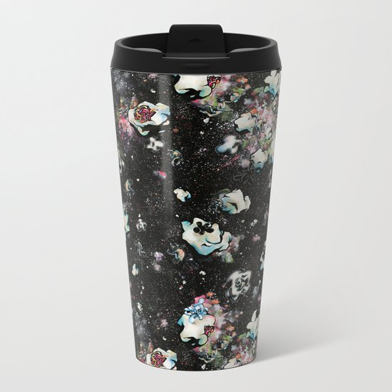 A Momentary Quietus Metal Travel Mug