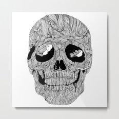 Skull No.1 Metal Print