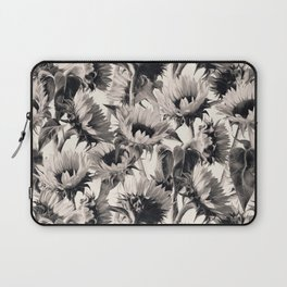 Sunflowers in Soft Sepia Laptop Sleeve