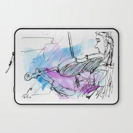 Violin in two tones II Laptop Sleeve