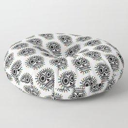 Sugar Skull - sharpie Floor Pillow
