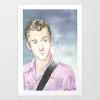 alex turner Art Prints featuring Alex Turner by SirScm
