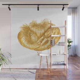 Poofy Flounciss Wall Mural