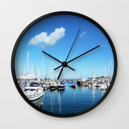 Guernsey Harbour Wall Clock