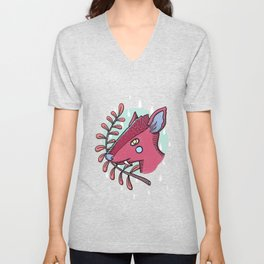 Fanged Unisex V-Neck