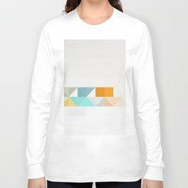 Triangle Pattern Long Sleeve T-shirt