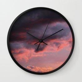 Sunset Atlas Wall Clock