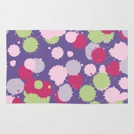 Blot ultra violet seamless pattern. Vector illustration Rug