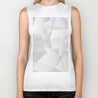 triangles Biker Tanks featuring Triangles by By Nordic