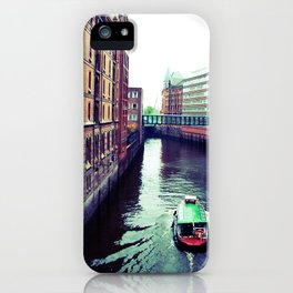 Hamburg or Venice? iPhone Case