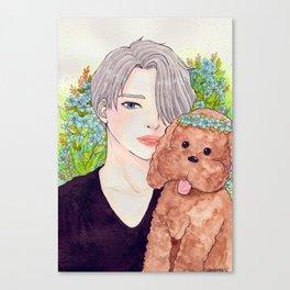 Viktor and Makkacchin Canvas Print