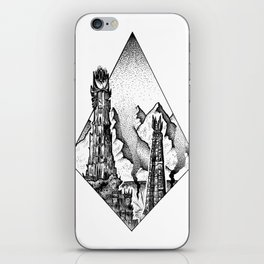 Two Towers iPhone Skin