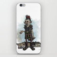 Punky Porteño iPhone & iPod Skin
