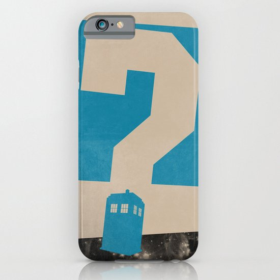 Doctor  Who? iPhone & iPod Case