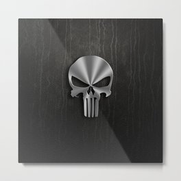 tribal punisher Metal Print