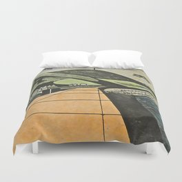 Fortified Headland, Aberystwyth Duvet Cover