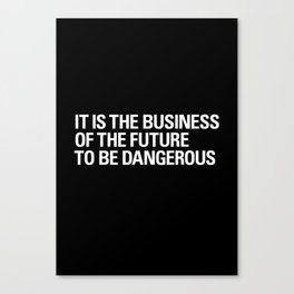 FUTURE BUSINESS Canvas Print