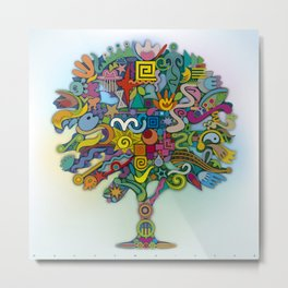 Fulfilled Tree Metal Print