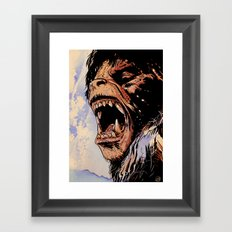 an american werewolf in london Framed Art Print