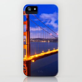 Marvellous San Francisco Golden Gate Bridge At Romantic Evening Red Ultra HD iPhone Case
