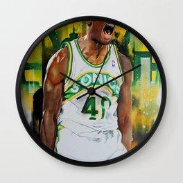 Reign Man Wall Clock