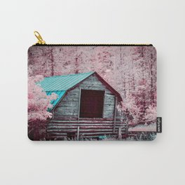 Nestled Barn Among The Forest, Idaho Carry-All Pouch