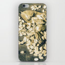 Contrast the thoughts iPhone Skin