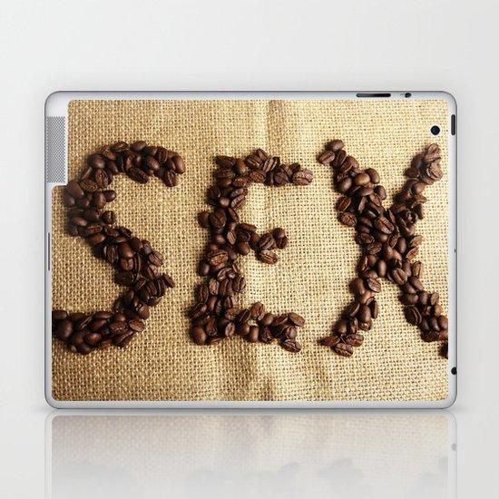 SEX - Coffee beans Laptop & iPad Skin