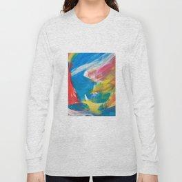 Abstract Artwork Colourful #4 Long Sleeve T-shirt