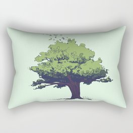 Arbor Vitae - Tree of Life Rectangular Pillow