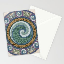 Ninth Wave Shield Stationery Cards