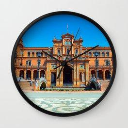 Plaza del Rey Wall Clock