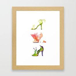 Fantasy Shoes Framed Art Print