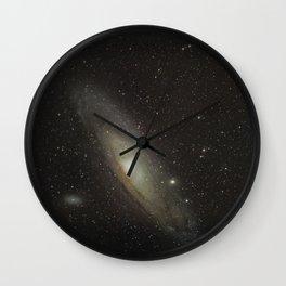 Andromeda Galaxy 12-21-17 Wall Clock