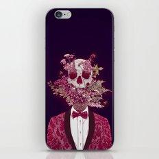 Skull Blossom iPhone Skin