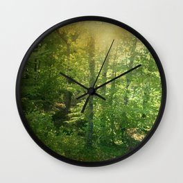 Newelly Forest Wall Clock