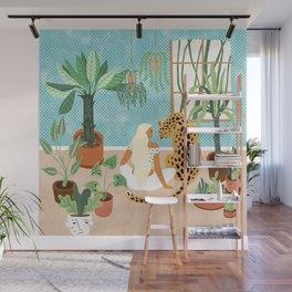Urban Jungle #illustration #botanical Wall Mural