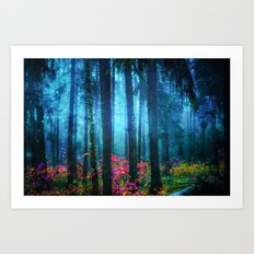 Magicwood #Night Art Print