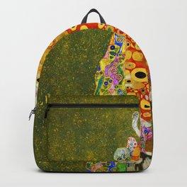 """Gustav Klimt """"Hope II"""" Backpack"""
