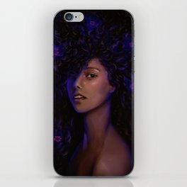FREE DA HAIR iPhone Skin