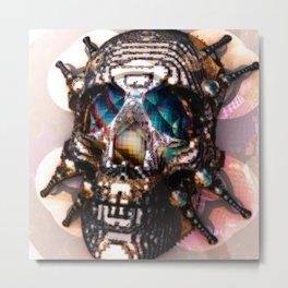 SKULLDER Metal Print