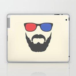 3D beard Laptop & iPad Skin