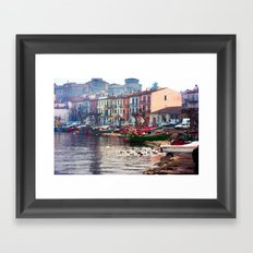 Winter in Marta Framed Art Print