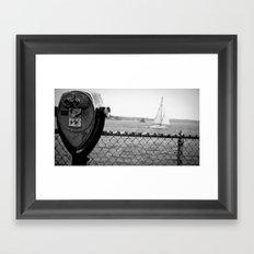 City Island Framed Art Print