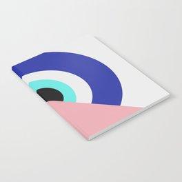 Devil eye pink hide Notebook