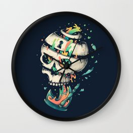 Fragile Delusion of Life and Death Wall Clock